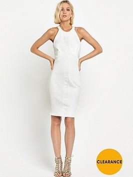 miss-selfridge-halter-bandage-bodycon-dress