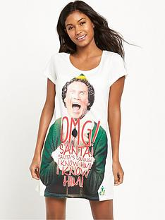 elf-omg-santa-sleep-shirt