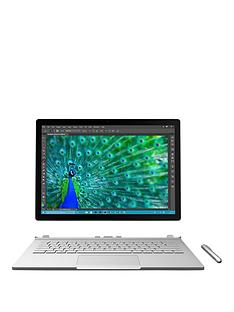 microsoft-surface-book-intelreg-coretrade-i5-processor-8gb-ram-256gb-ssd-touchscreen-2-in-1-laptop-with-optional-microsoft-office-silver