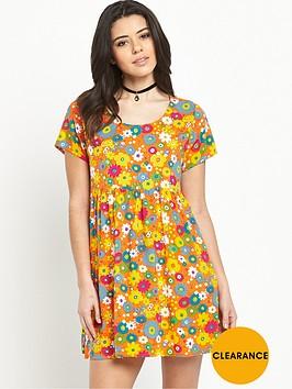 motel-sky-babydollnbspplaytime-floral-dress