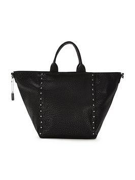 glamorous-studded-tote-bag-black
