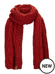 superdry-cable-knit-scarf