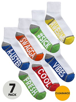 v-by-very-boys-aegisnbspslogan-trainer-socks-7-pack