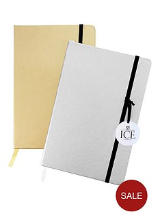 ice-london-ice-london-set-of-2-a5-metallic-notebooks