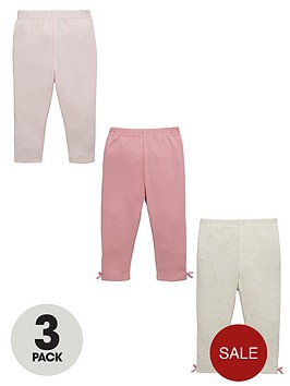 ladybird-baby-girls-mouse-and-bow-leggings-3-pack