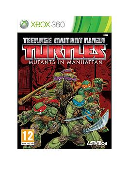 xbox-360-xbox-360nbspteenage-mutant-ninja-turtles-mutants-in-manhattan