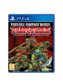 playstation-4-ps4nbspteenage-mutant-ninja-turtles-mutants-in-manhattan