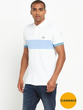 fred-perry-oxford-panel-pique-polo-shirt