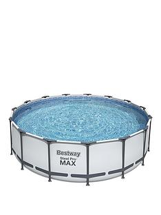 bestway-15ft-steel-pro-frame-pool-with-ladder-amp-pump