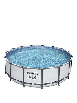 bestway-15ft-steel-pro-frame-pool-with-ladder-amp-pump