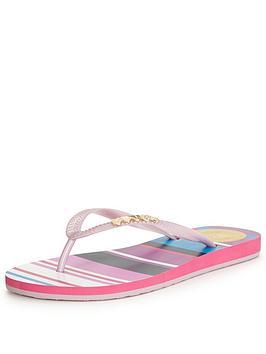 juicy-couture-leena-striped-flip-flop