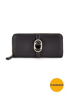 nica-sylvie-zip-around-purse-black