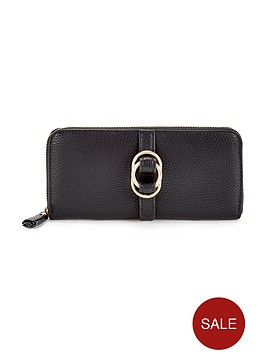 nica-sylvie-zip-around-purse-black