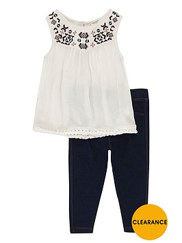 river-island-mini-girls-tassel-top-and-jeggings-set