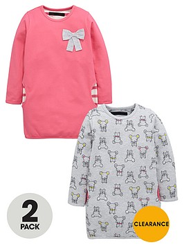 mini-v-by-very-girls-loop-back-mouse-sweat-dresses-2-pack