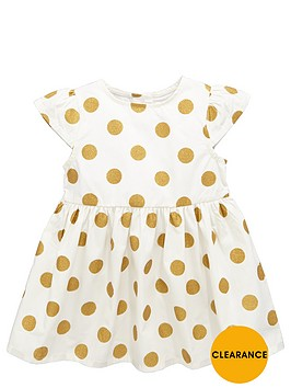 ladybird-baby-girls-metallic-spot-dress
