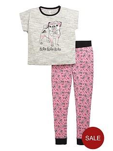 v-by-very-girls-pug-pyjamas-set