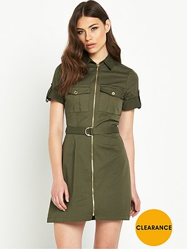 river-island-zip-through-shirt-dress