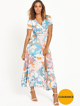 rochelle-humes-printed-wrap-front-maxi-dressnbsp