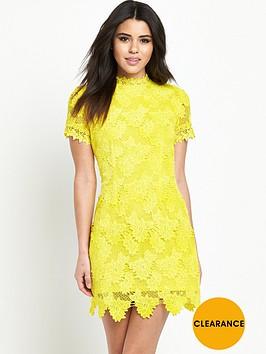 ax-paris-yellow-lace-dress