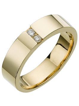 love-diamond-9-carat-yellow-gold-modern-wedding-band