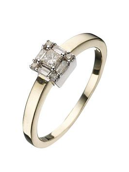 love-diamond-9-carat-yellow-gold-25pt-diamond-princess-cut-baguette-ring