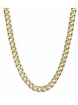 love-gold-9-carat-yellow-gold-appox-13oz-diamond-cut-curb-chain