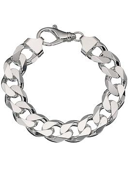 the-love-silver-collection-sterling-silver-3oz-solid-diamond-cut-curb-bracelet