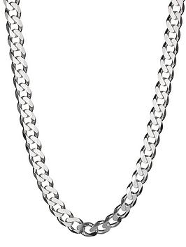 the-love-silver-collection-sterling-silver-4oz-solid-diamond-cut-curb-chain