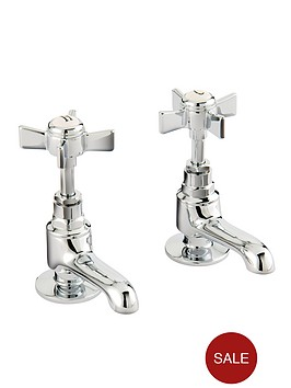 bristan-traditional-basin-taps-chrome