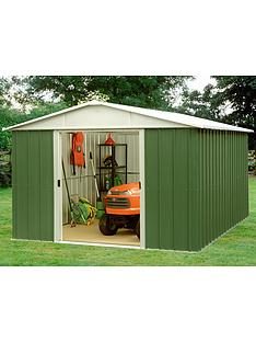 yardmaster-127x93ft-apex-roof-metal-garden-shed