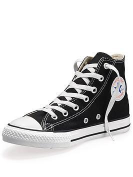 converse-all-star-hi-junior-kids-plimsolls-black