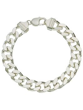 the-love-silver-collection-sterling-silver-1oz-solid-diamond-cut-curb-bracelet