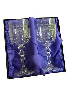 pair-of-crystal-wine-glasses