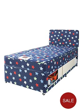 airsprung-stars-and-butterflies-small-single-kids-storage-divan-with-free-headboard