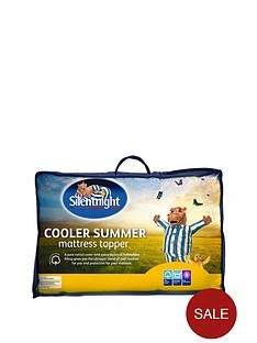 silentnight-cooler-summer-mattress-topper