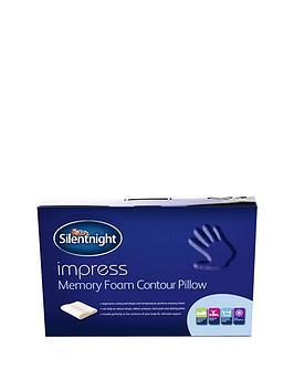 silentnight-impress-memory-foam-pillow