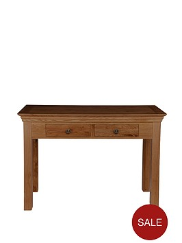 constance-oak-2-drawer-console-table