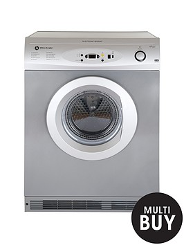 white-knight-c86a7s-7kg-load-vented-sensor-dryer-silver