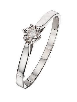 love-gold-9-carat-white-gold-2pt-diamond-illusion-set-solitare-ring