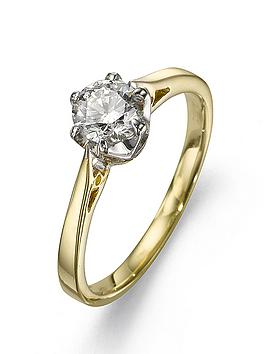 love-diamond-9-carat-yellow-gold-50-point-brilliant-cut-diamond-certified-solitaire-ring
