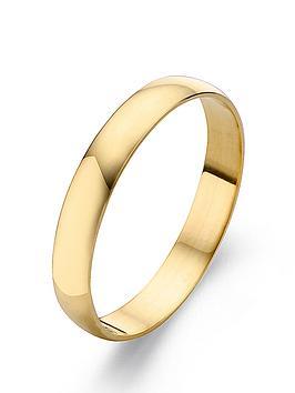love-gold-9-carat-yellow-gold-court-wedding-band-6mm