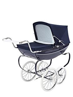 silver-cross-oberon-dolls-pram-navy