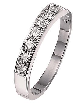love-diamond-9-carat-white-gold-half-eternity-ring