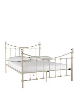 isabella-metal-bed-frame-with-optional-mattress