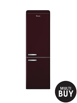swan-sr11020wr-60cm-retro-fridge-freezer-wine