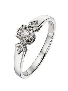 love-diamond-9-carat-white-gold-7pt-illusion-solitaire-ring