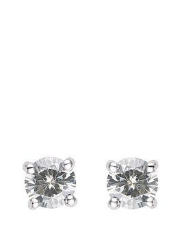 moissanite-18-carat-white-gold-moissanite-50pt-solitaire-earrings