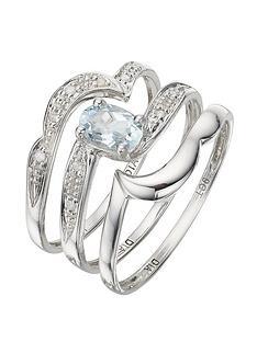 love-gem-9-carat-white-gold-005pt-diamond-and-062-carat-blue-topaz-bridal-set