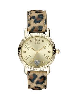 lipsy-pu-leopard-print-strap-ladies-watch
